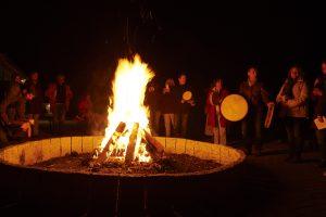 Einladung zum gemeinsamen Feuerritual in der Mainacht